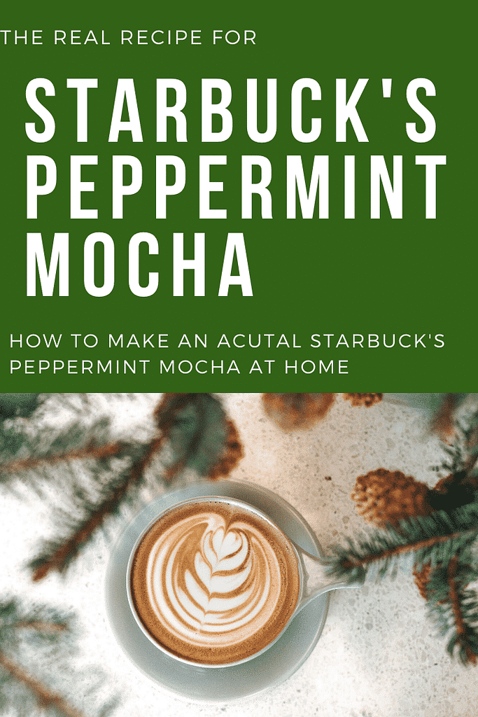 How to make starbuck's peppermint mocha at home, diy starbuck's drinks, starbucks red cup, starbuck's holiday drinks, winter, starbuck's copycat recipes, starbuck's hacks, how to make espresso, how to make an iced peppermint mocha, how to make hot peppermint mocha, the best starbuck's.