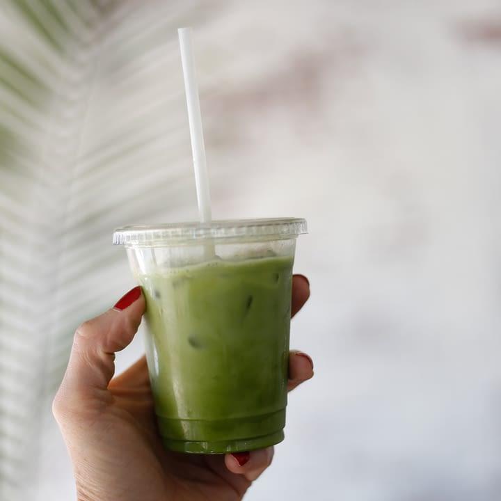 Starbucks Iced Pineapple Matcha Drink