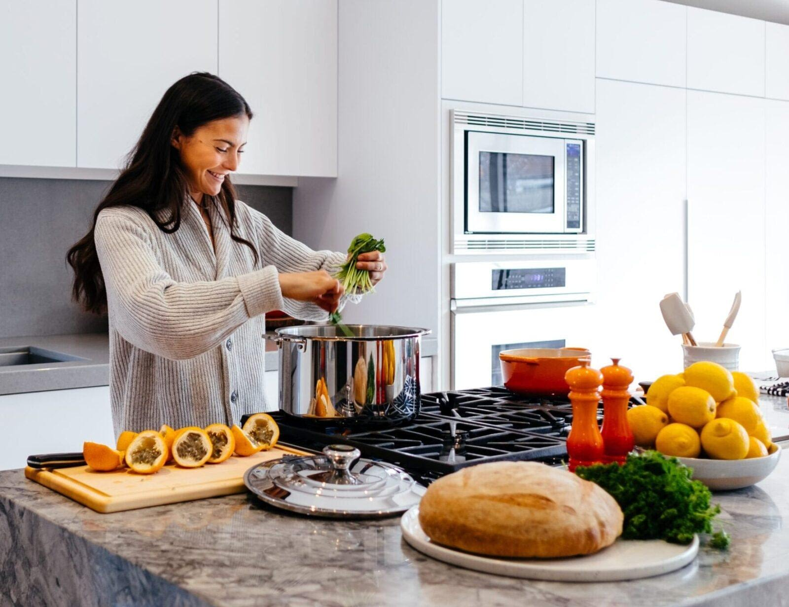 how to make weeknight cooking easier. tips for weeknight dinners