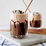 This homemade starbuck's s'mores frappuccino copycat recipe is the best copy cat recipe on the internet! grab all of the ingredients on amazon, so you can have your starbuck's at home. | diy, d.i.y., drinks, how to make starbucks, iced coffee, espresso, smores, summer, mocha, breakfast, easy, frappe, vegan