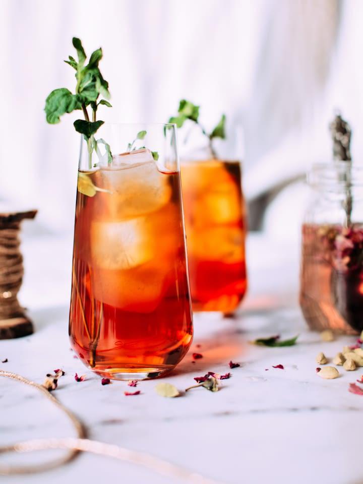 bourbon peach shrub recipe found on mandyolive.com
