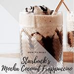 starbucks mocha coconut frappuccino copycat recipe