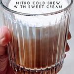 starbucks vanilla sweet cream nitro cold brew recipe pin