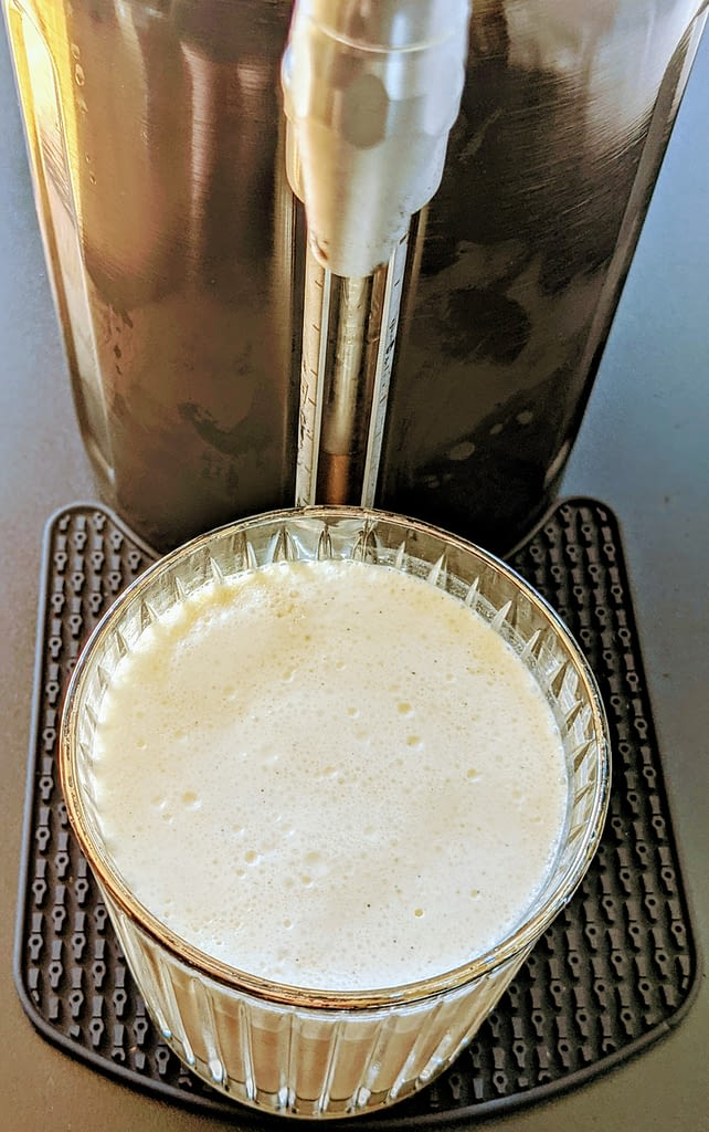 salted caramel nitro cold brew using growlerwerks ukeg